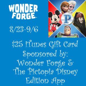 Wonder Forge $25 iTunes Gift Card Giveaway