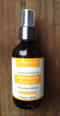 Deep Cleansing Facial Oil InstaNatural