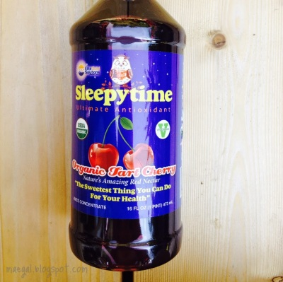 Sleepytime Ultimate Antioxidant Organic Tart Cherry Juice