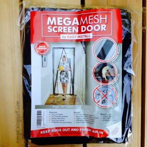 Mega Mesh Screen Door by Easy Install