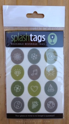 Splash Tags Reusable Beverage Tags Symbols Sheet