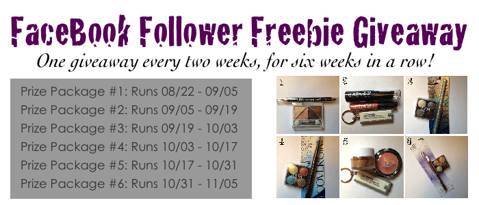 FaceBook Follower Freebie Giveaway