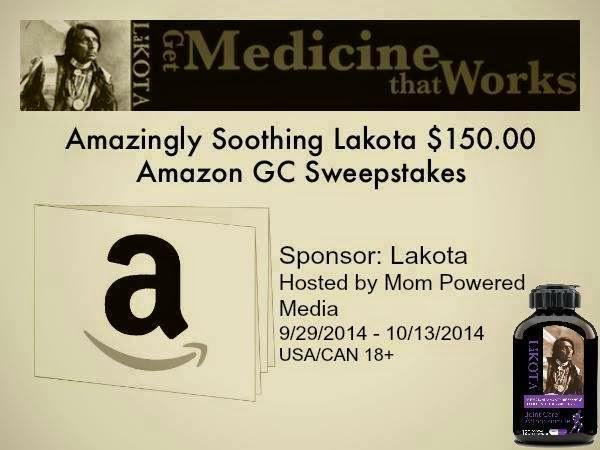 Lakota Mom Powered Media 150 Amazon Giftcard Giveaway | maegal.blogspot.com
