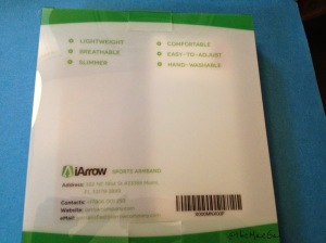 iArrow Sports Armband Info | maegal.blogspot.com