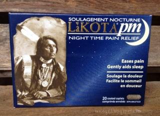 Lakota PM Night Time Pain Relief | maegal.blogspot.com