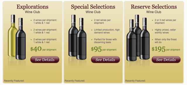 UncorkedVentures.com Wine Club Selections Explorations Special Reserve