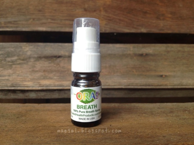 OraMD Breath Spray Bottle | maegal.blogspot.com