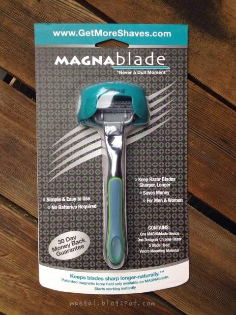 MagnaBlade Mens and Womens Razor Shaver | maegal.blogspot.com