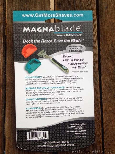 MagnaBlade Never a Dull Moment | maegal.blogspot.com
