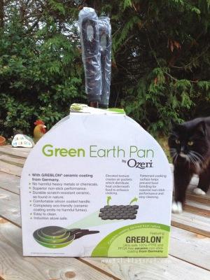 Ozeri 3-Piece Green Earth Ceramic Pan Information | maegal.blogspot.com