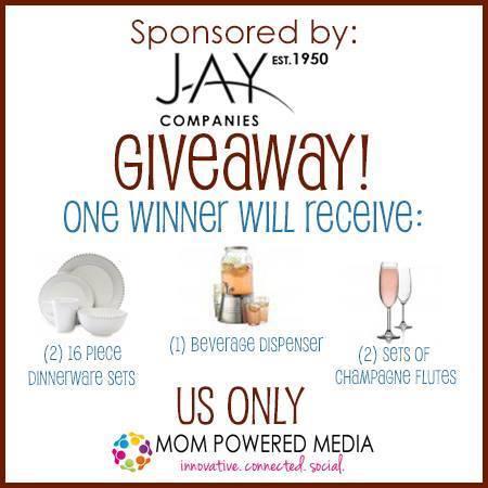 jay companies dinnerware giveaway | maegal.blogspot.com