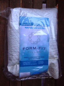 Form Fit Pillow | maegal.blogspot.com