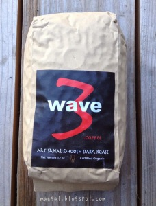 Wave Three Artisanal Smooth Dark Roast Coffee | maegal.blogspot.com