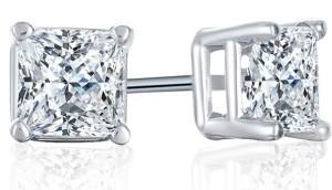 darcus tori square stud earrings