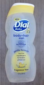 dial baby body hair wash | maegal.com