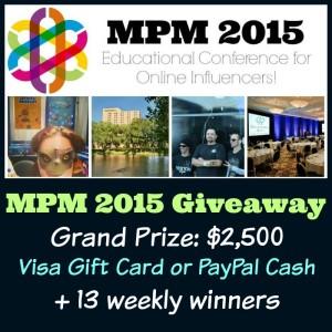 MPM 2015 Giveaway