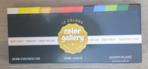 Color Gallery Acrylic Paint Set  | maegal.com