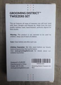 Grooming District Tweezer Info | maegal.com