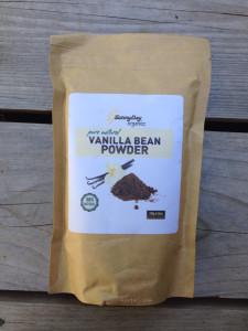 Vanilla Bean Powder Sunny Day Organics | maegal.com