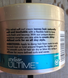 Schwarzkopf Ultime  Cream Directions | MaeGal.com